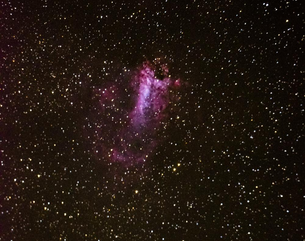M17 Swan Nebula - Rhondda