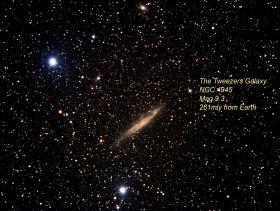 The Tweezers Galaxy